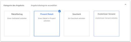 Sonderangebote mit Google 6-1