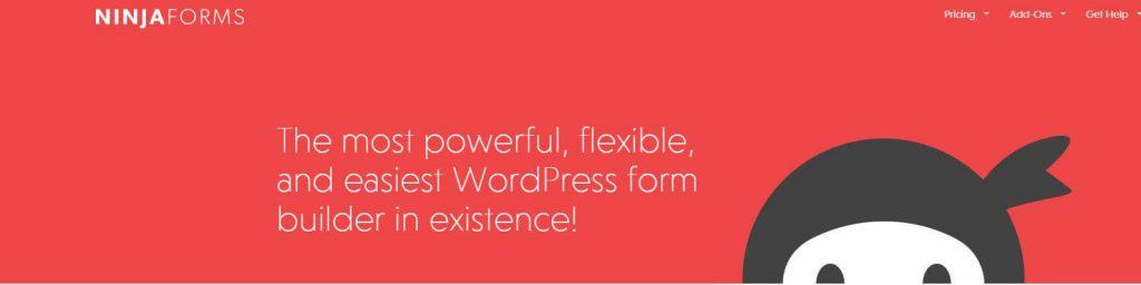 Ninjaforms WordPress Plugin