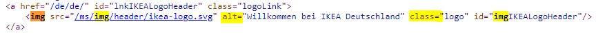 Snippets im Quellcode