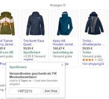 Sonderangebote mit Google 2