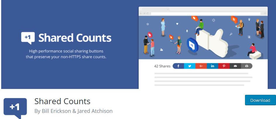 Shared Counts WP Plugin