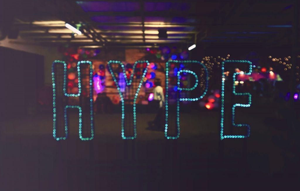 H wie Hype